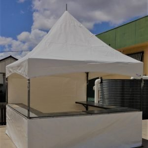 Can Bar 3 x 3m White