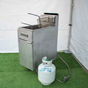 Deep Fryer 2 Basket Gas