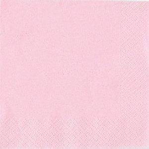 Light Pink 2ply (50) Serviette Luncheon
