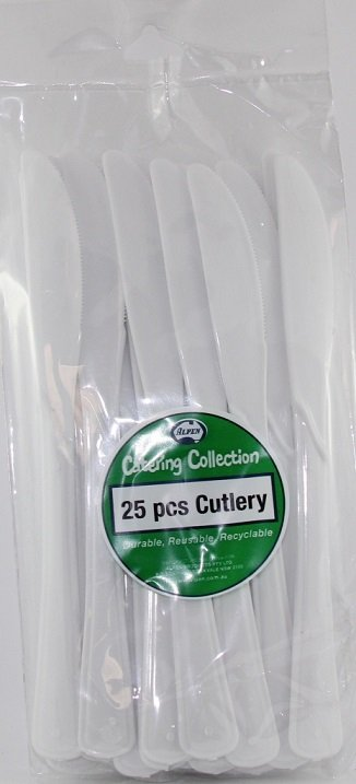 PlasticKnives(Pack25)Superior