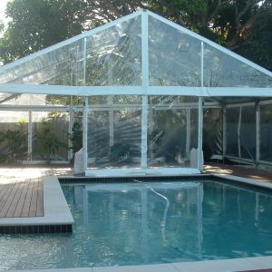 Structure 9m Clear Roof Marquee