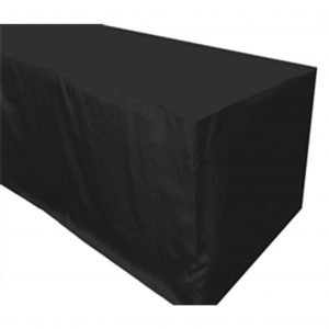 Table Covers 2.4m Black
