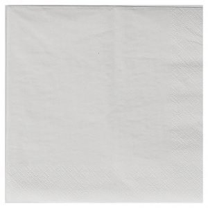 White 2ply (50) Serviette Luncheon