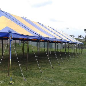 Peg & Pole 7.2 x 10.8m Blue & Yellow