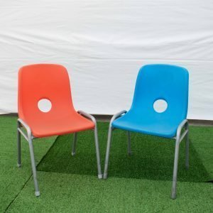 Children's Chair Blue, Pink, Red, Purple