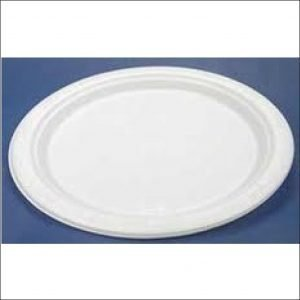 Plastic Oval Dinner Plate (25)