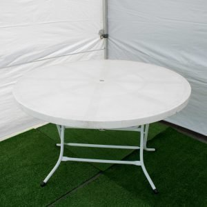 Round table 1.2m diameter
