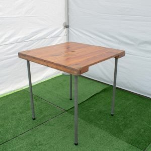 Square table 0.75m