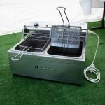 Deep Fryer Electric 2 Basket