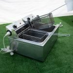 Electric Deep Fryer 2 Basket