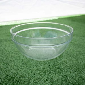 Bowl- Glass Plain (23cm)