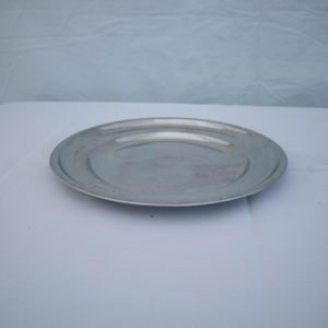 Platters- Round- Stainless Steel