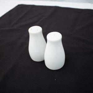 White China- Salt & Pepper