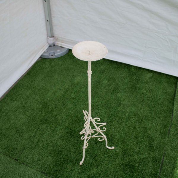 Candelabra-Wrought Iron-Table Single Candle